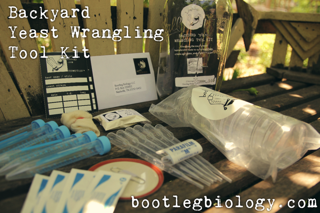 Backyard Yeast Wrangling Tool Kit – Bootleg Biology